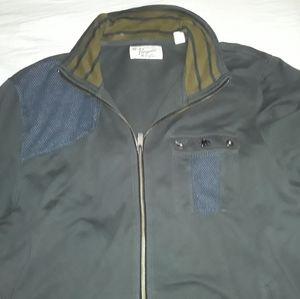 PENQUIN XL dark green, light jacket with zipper